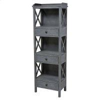 Chilmark 3-drawer Shelving Unit Product Image