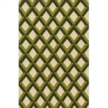 Green Trellis Rug