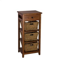 Tuscan Retreat® 3 Basket Stand - Antique Pine
