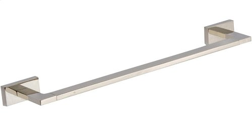 Axel Bath Towel Bar 18 Inch Single - Polished Nickel