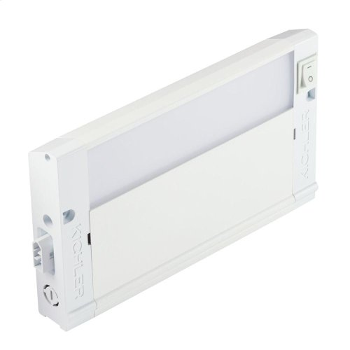 "4U Series LED Collection 8"" LED Cabinet Light in WHT"