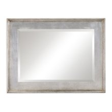 Rectangular Silver Leaf Mirror