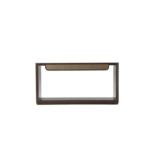 Bauer Console Table II - Walnut & Shagreen