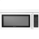 """30"""" Over-the-Range Microwave Oven with Convection, Floating Glass White Product Image"""