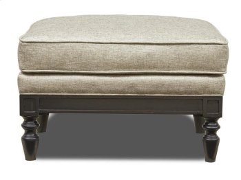 Ivory Ottoman Product Image