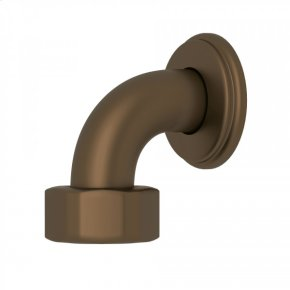 English Bronze Perrin & Rowe Top Return Elbow For Exposed Thermostatic Valves