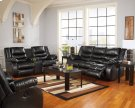 Linebacker DuraBlend® - Black 4 Piece Living Room Set Product Image