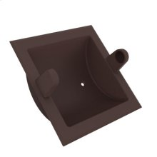 Oil Rubbed Bronze Recessed Toilet Tissue Holder