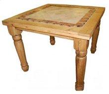 4' Bar Height Marble Table