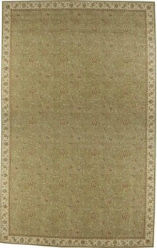 Hard To Find Sizes Sultana Su01 Emrld Rectangle Rug 9' X 12'