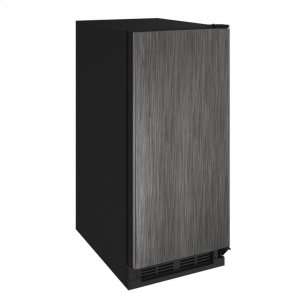 """U-Line 1000 Series 15"""" Beverage Center With Integrated Solid Finish And Field Reversible Door Swing (115 Volts / 60 Hz)"""