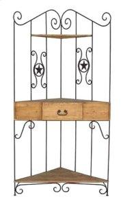 Wrought Iron Corner Rack Product Image