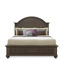 Belmeade Full/Queen Arch Panel Headboard Old World Oak finish