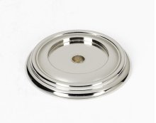 Charlie's Collection Backplate A616-38 - Polished Nickel