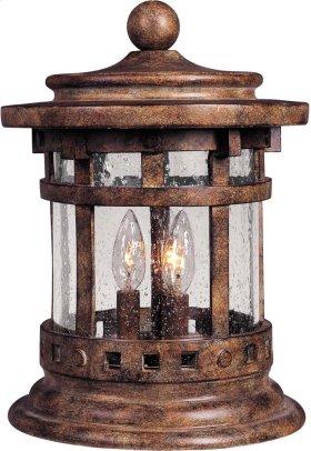 Santa Barbara VX 3-Light Outdoor Deck Lantern