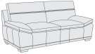Prescott Loveseat in Mocha (751) Product Image