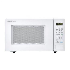 Sharp Appliances1.4 cu. ft. 1000W Sharp White Countertop Microwave Oven