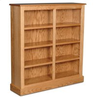 "Classic Short Category II Bookcase, Classic Short Category II Bookcase, 1-Adjustable Shelf, 50""w Product Image"