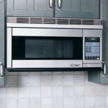 """Discovery 30"""" Over the Range Convection Microwave Hood in Black"""