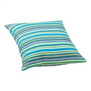 Puppy Large Outdoor Pillow Multicolor Stripe Product Image