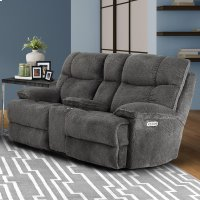 Oasis Anchor Power Console Loveseat Product Image