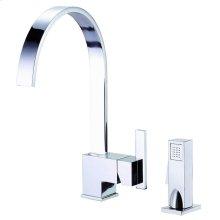 Chrome Sirius® Single Handle Kitchen Faucet