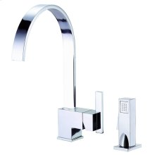 Chrome Sirius® Single Handle Kitchen Faucet