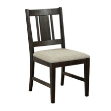 "Walton ""Dark Rustic"" Kitchen Nook Chair, 18-1/2"" Seat Height"