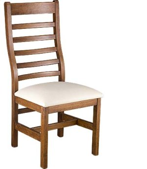 Lorre Side Chair w/ Fabric Seat