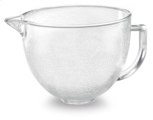 5-Qt. Tilt-Head Hammered Glass Bowl with Lid - Other