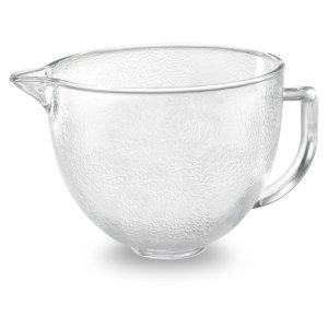 KITCHENAID4.8 Tilt-Head Hammered Glass Bowl - Other
