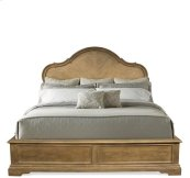 Verona Full/Queen Panel Headboard Light Sienna finish