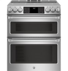 Slide-In Front Control Double Electric Induction Black oven, 6.7 (2.4/4.3) , Wifi Connectivity, Self Clean