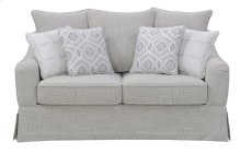 Emerald Home Gabrielle Loveseat Morning Gray U3301-01-09