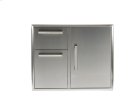 "31"" Combination Storage: Door and Drawers Cabinet Product Image"