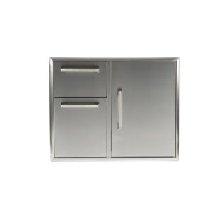 "Coyote31"" Combination Storage: Door and Drawers Cabinet"