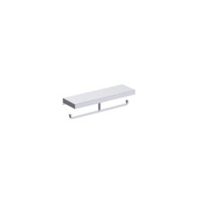 Double Tissue Holder With Shelf