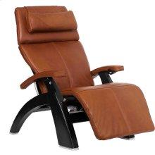 """Perfect Chair PC-LiVE """" - Cognac Premium Leather - Matte Black"""
