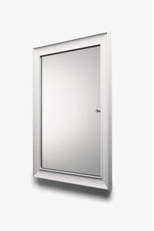 "Waterworks Modern Recessed Wood Medicine Cabinet 24"" x 32"" x 1 1/2"" STYLE: WWCB06"