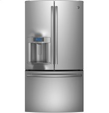 GE Profile Series ENERGY STAR® 22.1 Cu. Ft. Counter-Depth French-Door Refrigerator