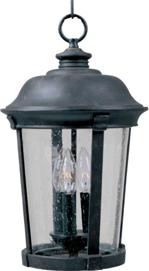 Dover Cast 3-Light Outdoor Hanging Lantern