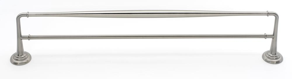 Charlie's Collection Double Towel Bar A6725-24 - Satin Nickel