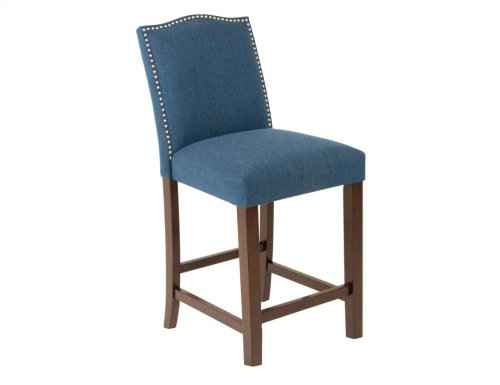 "Elden Upholstered Bar Chair 19""x24""x45"" [1/2"" Memory foam]"