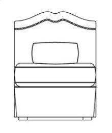 Sectional Armless Chair