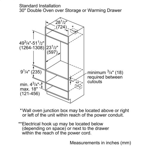 """500 Series, 30"""", Storage Drawer"""