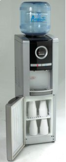 Model WD99PS - Water Dispenser with Electronic Digital Display - Platinum/Black Product Image