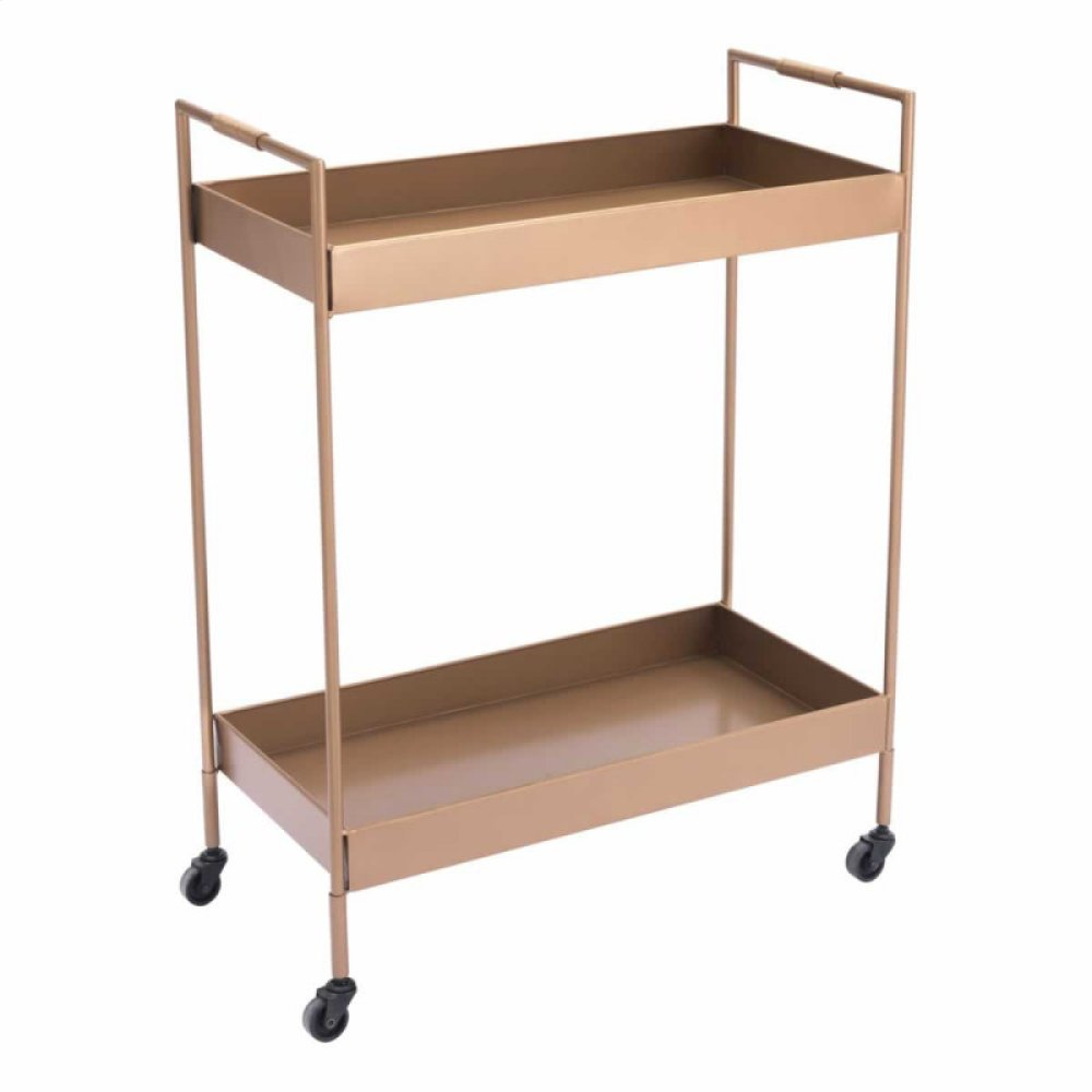 Gold Bar Cart Gold