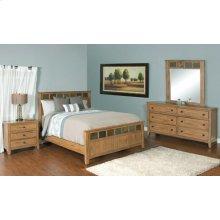 """Sedona Petite Queen Panel Bed 65.5"""" X 88.4"""" X 55""""h"""