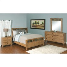 "Sedona Petite Queen Panel Bed 65.5"" X 88.4"" X 55""h"