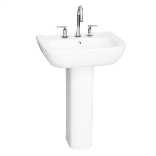 Caroline 450 Pedestal Lavatory - Single-Hole